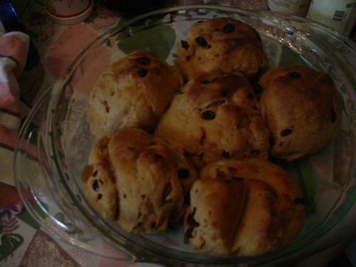 fruity buns