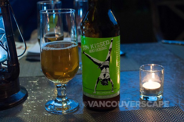 Barley and the Beast Deep Cove beer pairing dinner