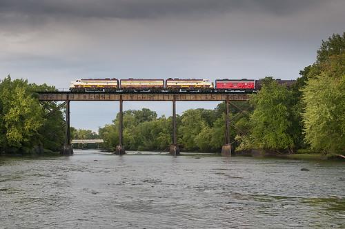 bridge minnesota unitedstates happybirthday passenger cp cpr rockford crowriver royalcanadianpacific