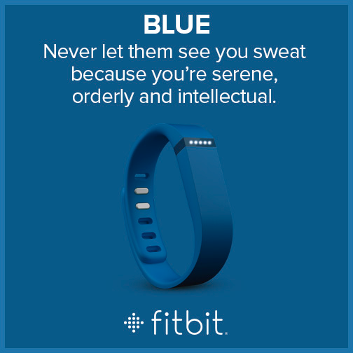 Fitbit Flex - Colors - Blue
