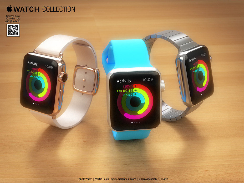 Apple Watch 3D models