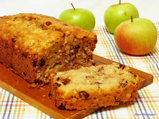 яблочный кекс с орехами и изюмом Дори 3