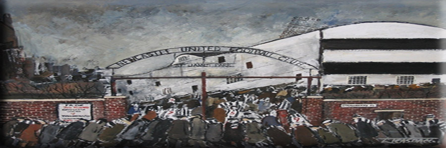 Artwork: Black and White by Malcolm Teasdale' by Terry Donnelly