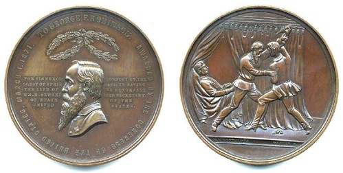 George Robinson mint medal