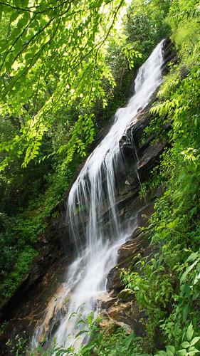 northcarolina cascadefalls blueridgeparkway