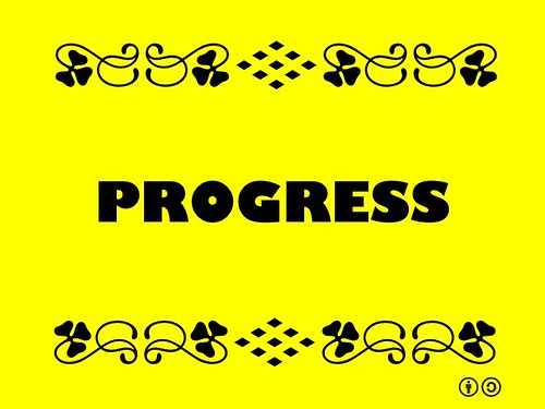 Buzzword Bingo: Progress = Forward Movement