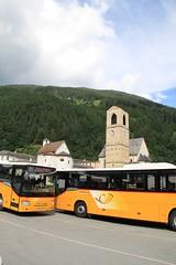 Postal Buses in Müstair