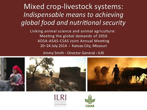 Mixed Crop-Livestock Systems: Slide 01