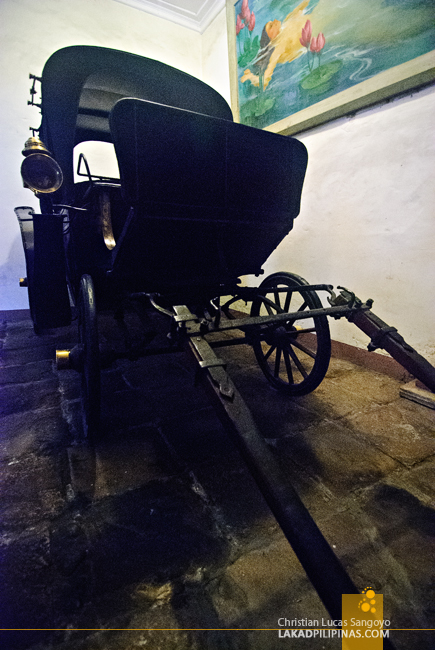Carriage at Syquia Mansion in Vigan City