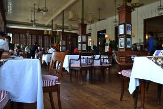 Obraz Cafe Batavia. old building dutch century indonesia java colonial jakarta batavia nederlands oud kota 19th voc