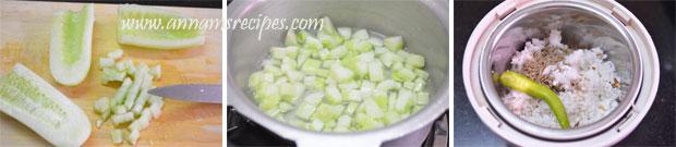 Cucumber Kichadi