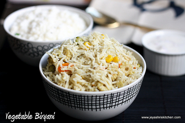 vegetable -biryani