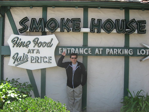 Keith Valcourt at The Smoke House Burbank CA