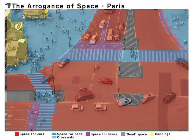 The Arrogance of Space Paris - Eiffel Tower 002