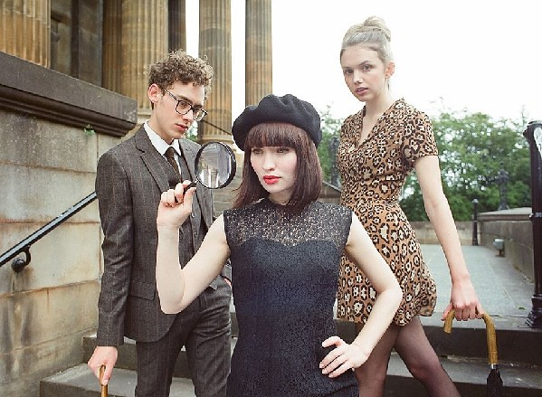 (L-R) Olly Alexander, Emily Browning and Hannah Murray are a whimsical makeshift band in GOD HELP THE GIRL.