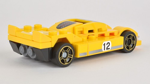 2014 legoshellferrari promotional sets - Ferrari 2014 Yellow