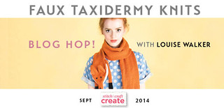 Faux Taxidermy Knits blog hop