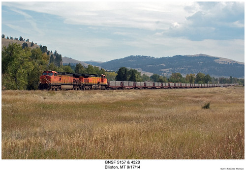 railroad train montana diesel railway trains locomotive trainengine ge bnsf elliston dash944cw burlingtonnorthernsantafe dash9 c449w sixaxle