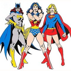 DC's OTHER trinity. By José Luis García-López. #comics