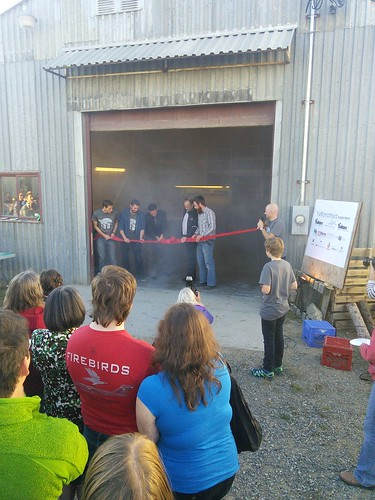 YuKonstruct Grand Opening Ribbon Cutting