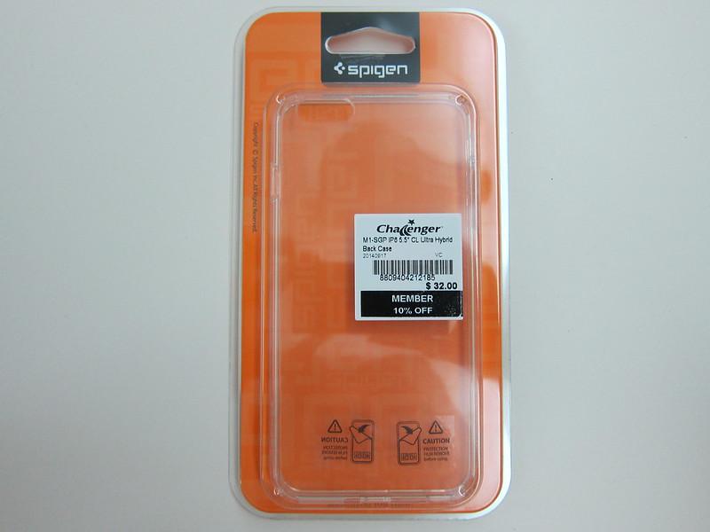 Spigen iPhone 6 Plus Ultra Hybrid Case - Packaging Front