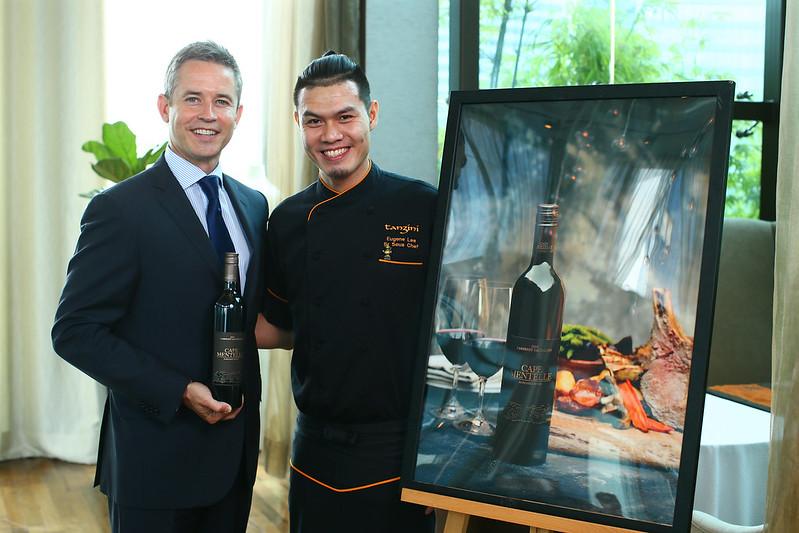 Cameron Murphy & Chef Eugene Lee