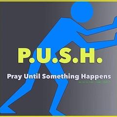 Push hard !