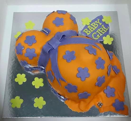 Pregnant Cake by Diane Diane