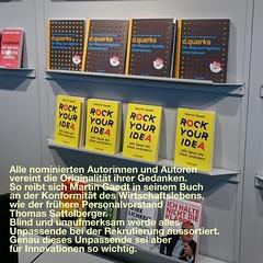 Autor mit Netzwerkstärke #awb16 #fbm16 http://www.netzpiloten.de/regelbrecher-alternativer-wirtschaftsbuchpreis-awb16/