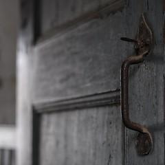 'The door handle is the handshake of a building' (unknown)