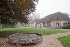 2016-10-24 10-30 Burgund 610 Abbaye de Pontigny
