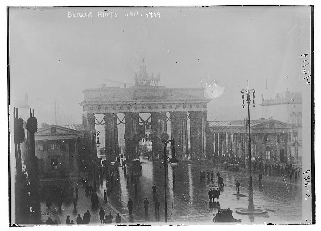 Berlin riots, Jan. 1919 (LOC)