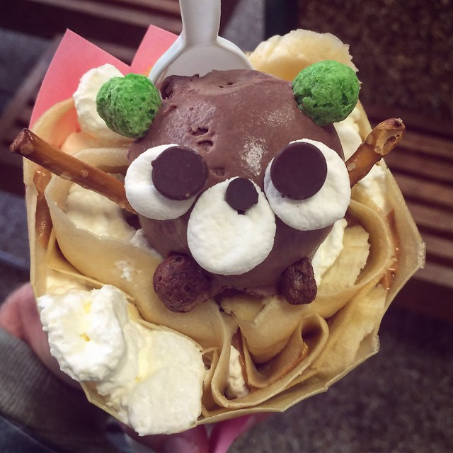 Is this little bear too cute to eat? No. No he is not.