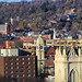The steeples of downtown Dubuque from Cleveland Park by PamelaDbq