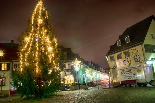 Weihnachtsbaum Marktplatz Neu-isenburg