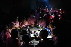 Nun dinner - Pakokku, Myanmar