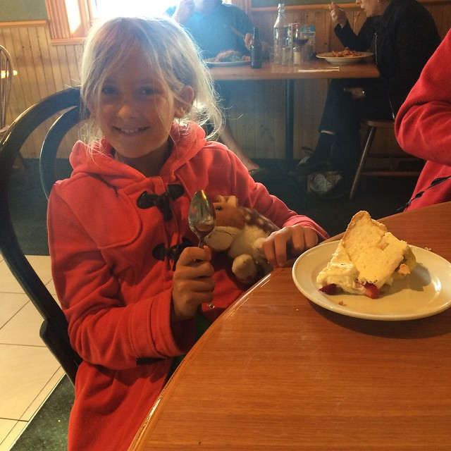 Zoe is nine. Pavlova and quoll. All is well.