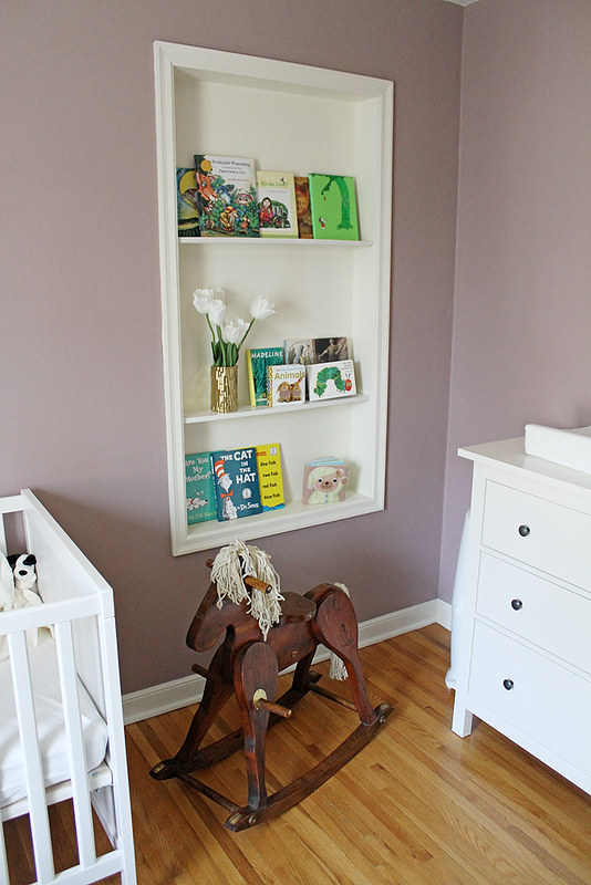a lil' nursery reveal