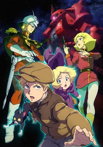 140519(2) - 劇場版《機動戰士鋼彈 THE ORIGIN I 藍色瞳孔的卡斯巴爾》發表第二張海報、製作群&故事!【20日更新】