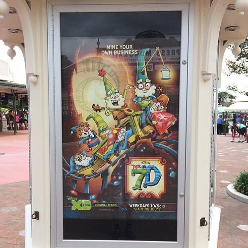 わ、The 7Dのポスターだ!