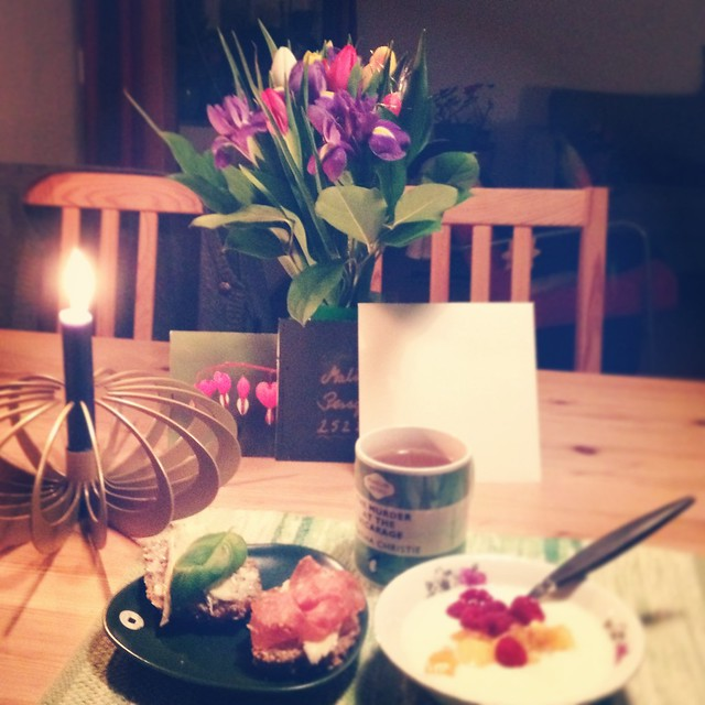 birthday breakfast, helsingborg