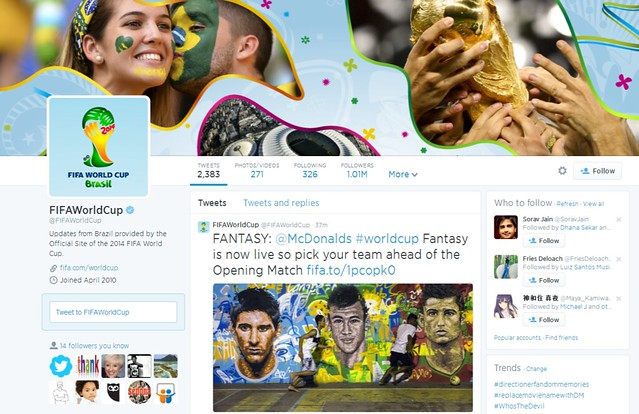 FIFAWorldCup FIFAWorldCup on Twitter