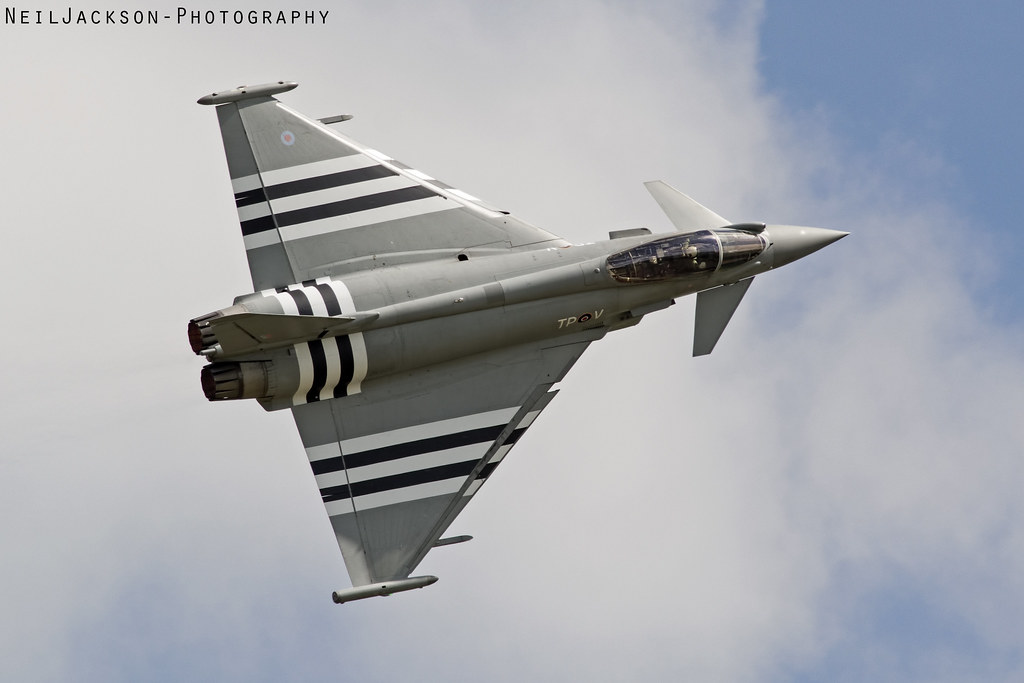 RAF D-Day Stripes Eurofighter Typhoon