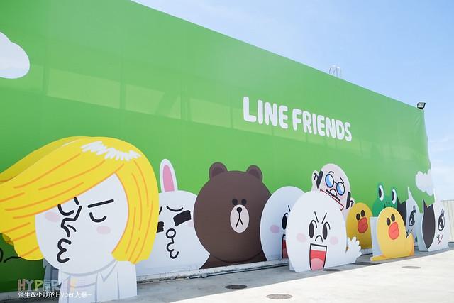 2014.06 台中LINE FRIENDS互動樂園