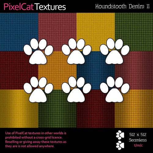 PixelCat Textures - Houndstooth Denim II