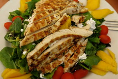 Chicken Salad with Mango & Feta