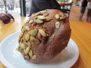 Pumpkin and Apple Muffin from JJ Bean