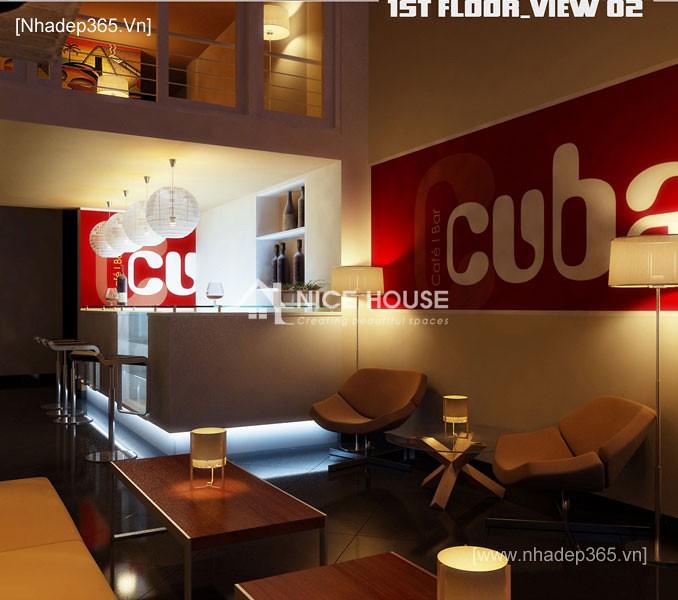 Nội thất quán cafe Cu Ba - HN_2