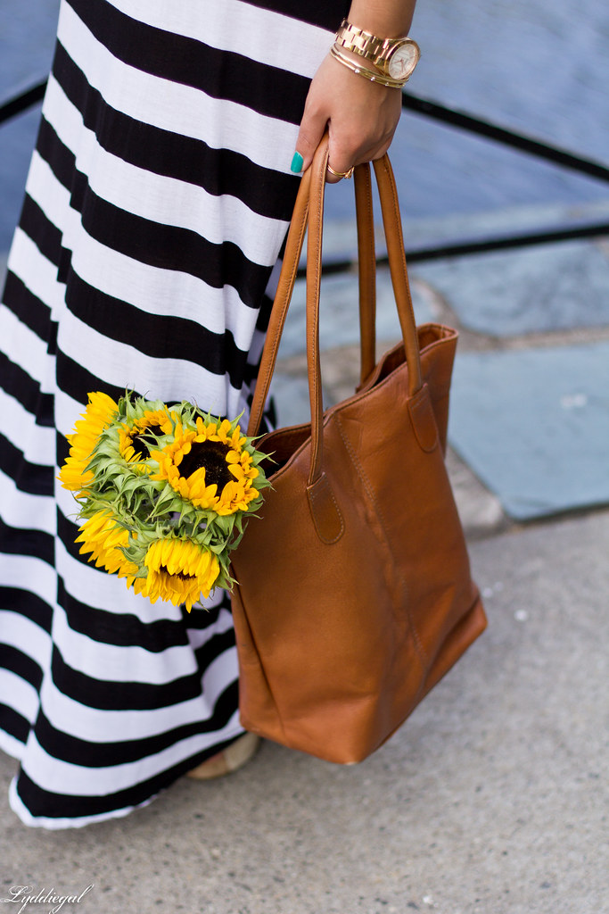 striped maxi dress and sunflowers-4.jpg