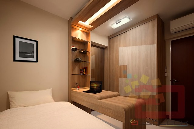 Hdb bto 4 room woody essence at punggol parcvista for 3 room bto design ideas